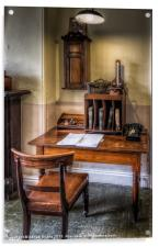 Victorian Office, Acrylic Print