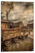 Victorian Colliery, Acrylic Print