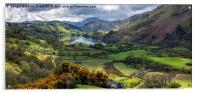 Nant Gwynant Valley, Acrylic Print