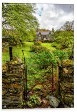 The Garden Gate, Acrylic Print