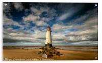 Lighthouse Point of Ayre, Acrylic Print