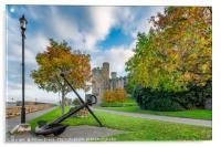 Conwy Castle Autumn, Acrylic Print