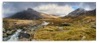 Pen Yr Ole Wen and Tryfan Mountain, Acrylic Print