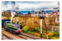 Gods Wonderful Railway (GWR), Acrylic Print