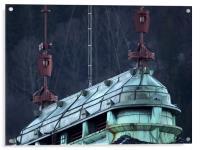 Bergen Rooftop, Acrylic Print