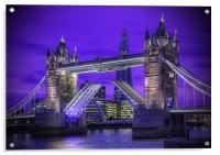 Tower Bridge London, Acrylic Print