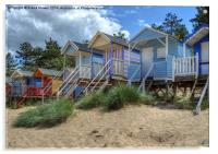 Beach Huts Wells, Acrylic Print