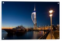 Portsmouths Spinnaker Tower 3, Acrylic Print