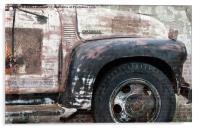 Old Chevrolet Truck, Acrylic Print