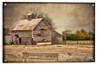 Weathered Barn, Acrylic Print