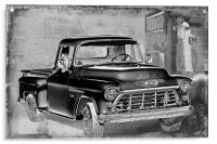 Classic Chevrolet Pickup, Acrylic Print