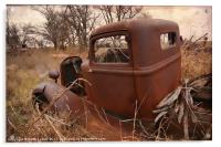 Where Old Trucks Go To Die, Acrylic Print