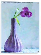 Tulip Abstract, Acrylic Print