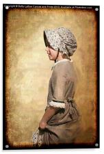 Pioneer Girl, Acrylic Print