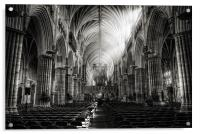 Exeter Cathedral, Acrylic Print