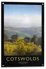 Cotswolds, Acrylic Print