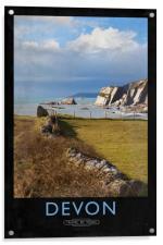 Devon, Acrylic Print