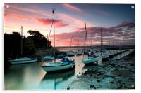 Cramond sunset, Acrylic Print