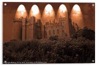 Arundel Castle, Arundel, West Sussex, Acrylic Print