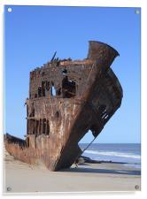 Ship Wreck., Acrylic Print