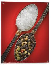 Spoonfuls of Salt and Pepper, Acrylic Print
