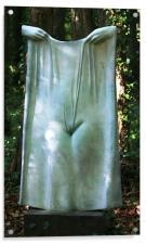 Sculpture of female figure, Acrylic Print