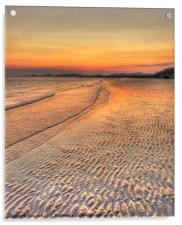 Deserted Beach, Acrylic Print