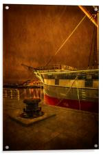 The Glenlee at  Riverside Museum, Acrylic Print