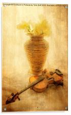 A Little Light Music, Acrylic Print