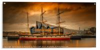 The Glenlee At Sunset, Acrylic Print