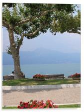 Lake Garda Italy, Acrylic Print