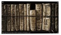 Ancient books, Acrylic Print