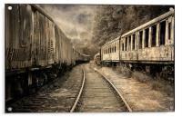 End of the Line., Acrylic Print