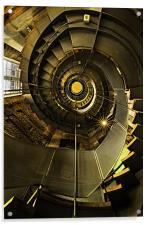 The Charles Macintosh Lighthouse, Scotland, Acrylic Print
