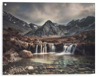Fairy Pools, Acrylic Print