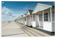Southwold Beach Huts in Summer, Acrylic Print