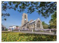 St Giles Church, Acrylic Print