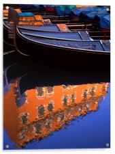 Reflections of Venice, Acrylic Print