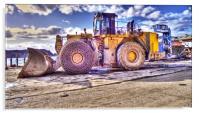 Big Dockland Tractor, Acrylic Print