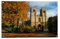 UK,Nottinghamshire,Worksop Priory, Acrylic Print