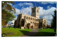 St Swithuns Church,Retford, Acrylic Print