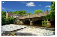 River Don at Oughtibridge, Acrylic Print