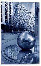 Millennium Square, Sheffield, Acrylic Print