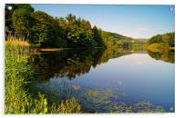More Hall Reservoir, Peak District near Sheffield, Acrylic Print