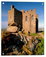 Carn Brea Castle, Acrylic Print