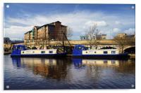 Victoria Quays, Sheffield, Acrylic Print