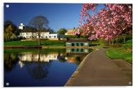 Crookes Valley Park, Acrylic Print