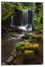 Upper Cut Wheel, Rivelin, Acrylic Print