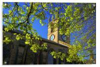 St Thomas Church, Kimberworth,Rotherham, Acrylic Print