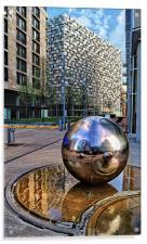 Millennium Square, Sheffield City Centre, Acrylic Print